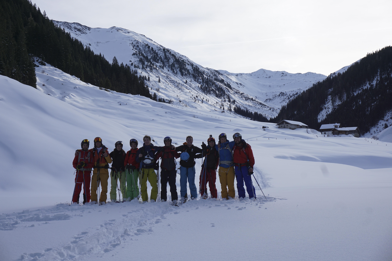 Freeriden Alpinschule Bergsport Tirol
