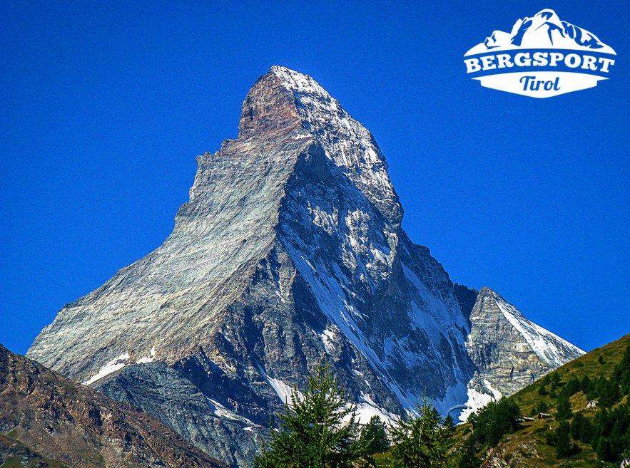 Matterhorn mit Logo