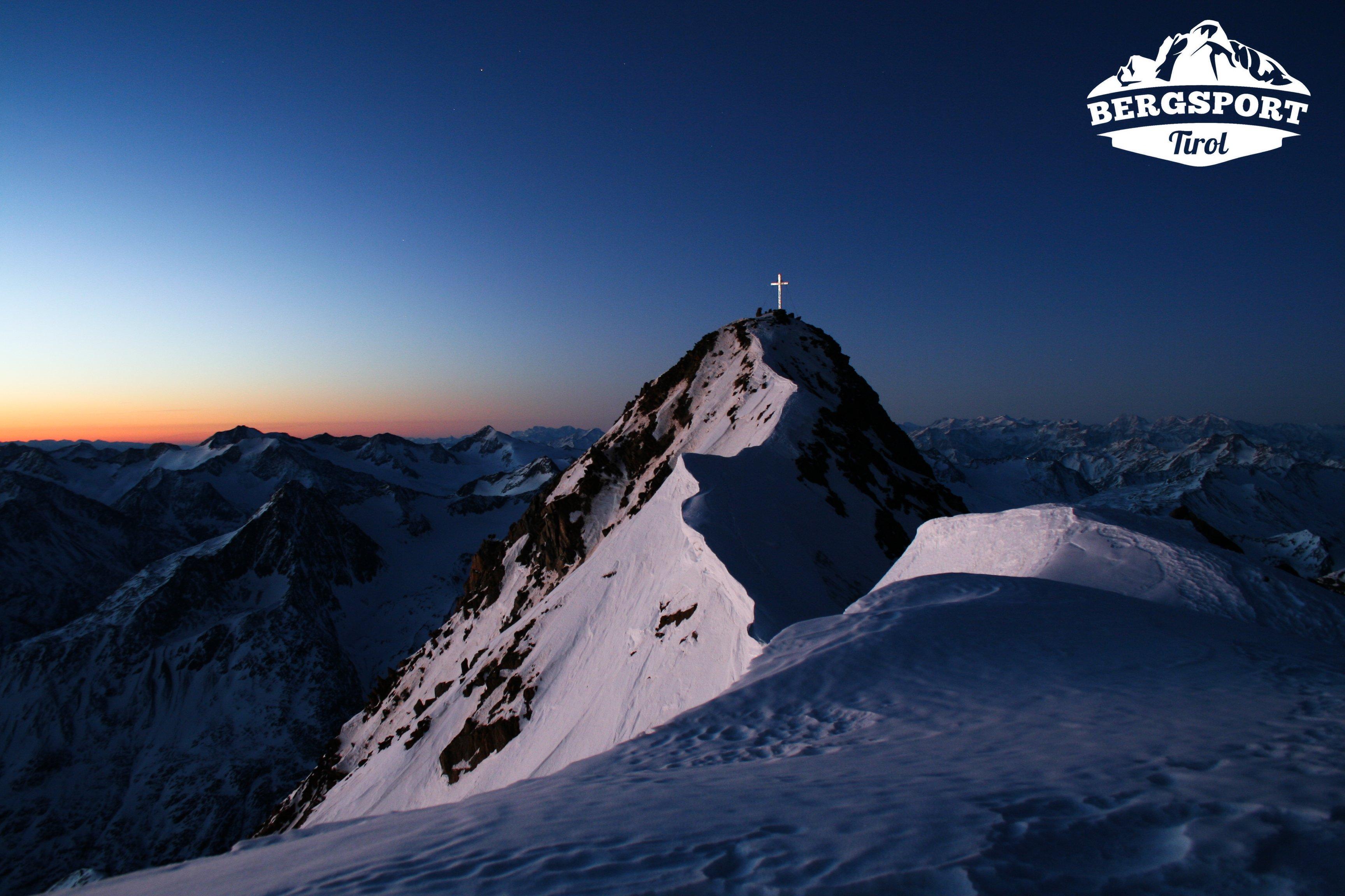 Wildspitze mit Logo